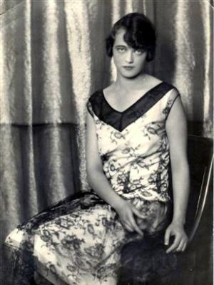 Hjördis Calás-Svartström 1930-luvulla