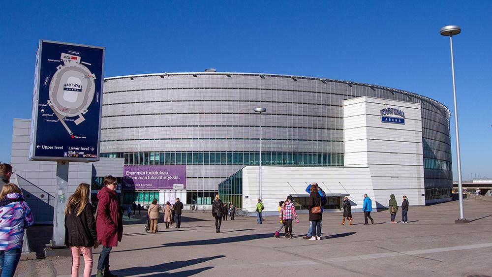 Hartwall Arena Kapasiteetti